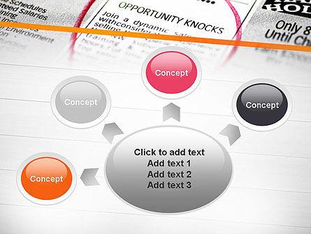 Opportunity Knocks PowerPoint Template Slide 7