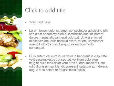 Yummy Food PowerPoint Template, Slide 3, 11642, Food & Beverage — PoweredTemplate.com