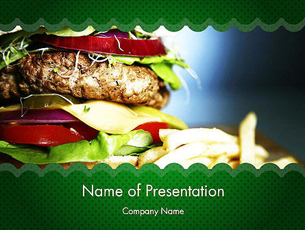Yummy Food PowerPoint Template, 11642, Food & Beverage — PoweredTemplate.com
