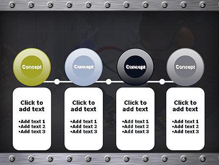 Pneumatic Grinder PowerPoint Template Slide 5