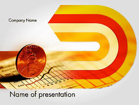 Financial Analysis Report PowerPoint Template