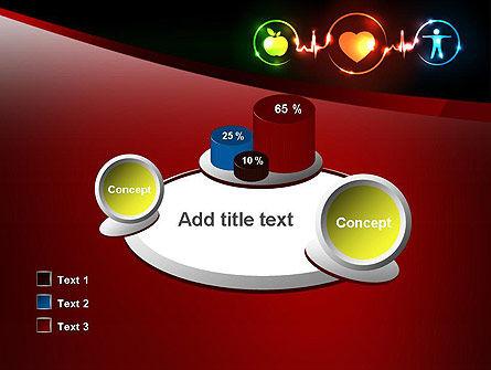 Wellness Symbol PowerPoint Template Slide 16