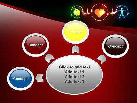 Wellness Symbol PowerPoint Template Slide 7