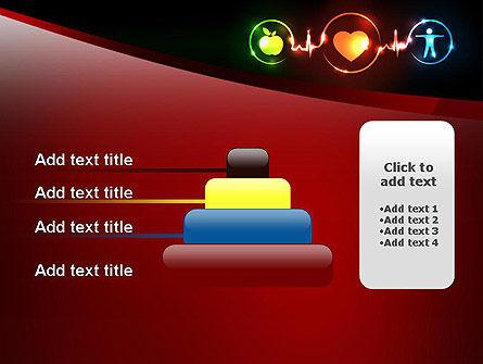 Wellness Symbol PowerPoint Template Slide 8