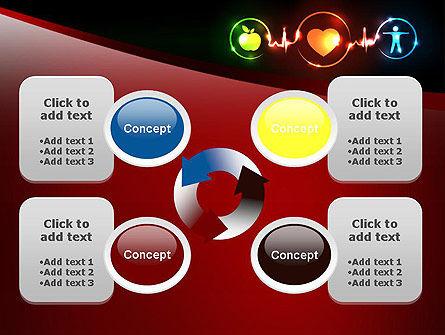 Wellness Symbol PowerPoint Template Slide 9