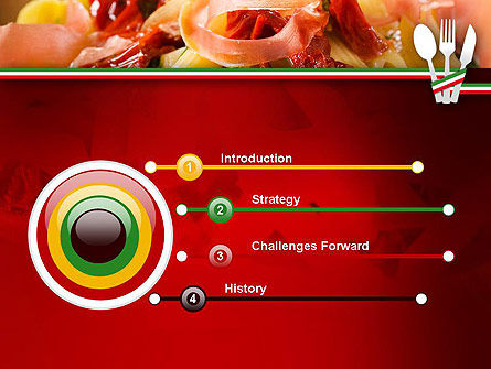 Italian Cuisine PowerPoint Template, Slide 3, 11650, Food & Beverage — PoweredTemplate.com