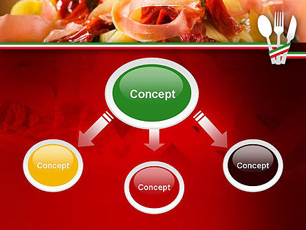 Italian Cuisine PowerPoint Template, Slide 4, 11650, Food & Beverage — PoweredTemplate.com