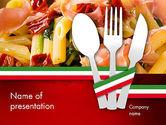 Food & Beverage: Plantilla de PowerPoint - cocina italiana #11650