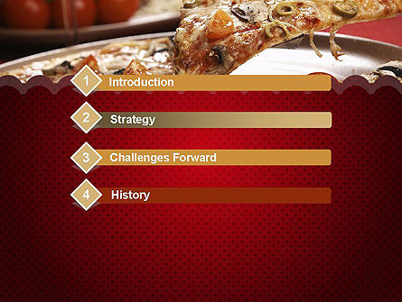 Delicious Pizza Recipes PowerPoint Template, Slide 3, 11651, Food & Beverage — PoweredTemplate.com
