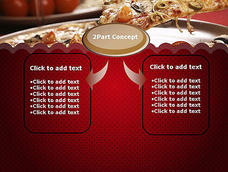 Delicious Pizza Recipes PowerPoint Template, Slide 4, 11651, Food & Beverage — PoweredTemplate.com