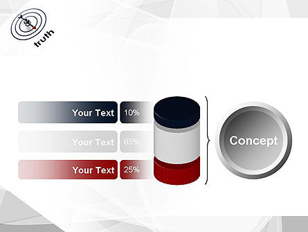 Truth Compass PowerPoint Template Slide 11
