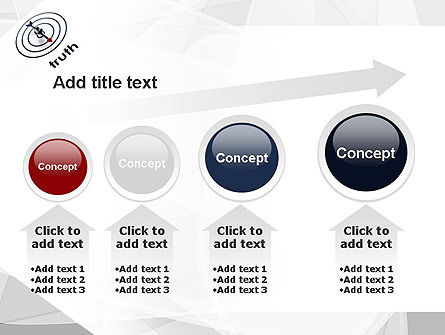 Truth Compass PowerPoint Template Slide 13