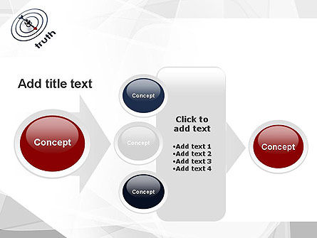 Truth Compass PowerPoint Template Slide 17