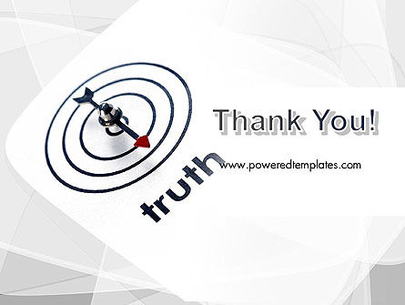 Truth Compass PowerPoint Template Slide 20