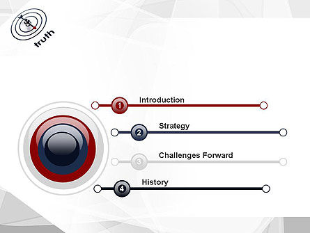 Truth Compass PowerPoint Template Slide 3