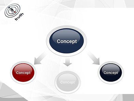 Truth Compass PowerPoint Template, Slide 4, 11652, Business Concepts — PoweredTemplate.com