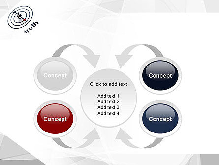 Truth Compass PowerPoint Template Slide 6