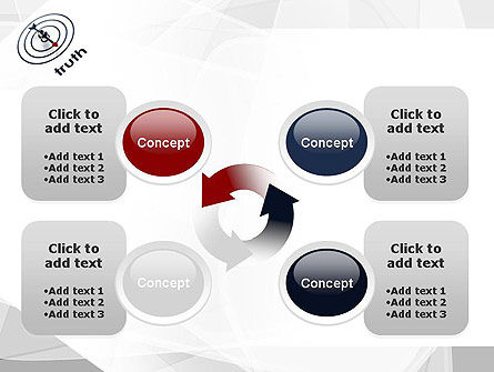 Truth Compass PowerPoint Template Slide 9
