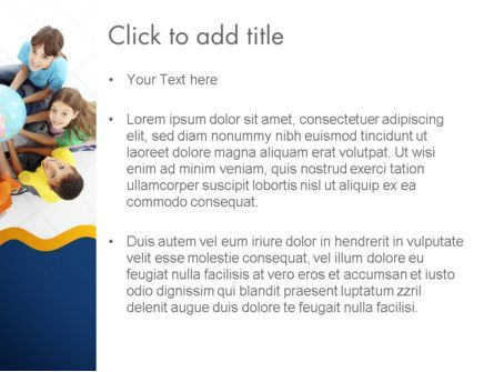 Kids Environment PowerPoint Template, Slide 3, 11653, Education & Training — PoweredTemplate.com