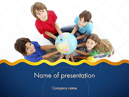 Kids Environment PowerPoint Template