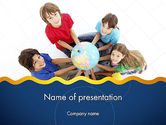 Education & Training: Kids Environment PowerPoint Template #11653