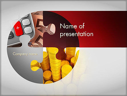 Accounting Theme PowerPoint Template, 11654, Financial/Accounting — PoweredTemplate.com