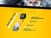 Respiratory Protection PowerPoint Template#14