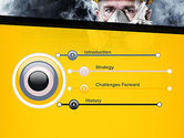 Respiratory Protection PowerPoint Template#3