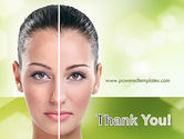 Woman Face Before and After PowerPoint Template#20