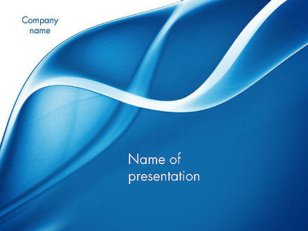 Abstract Blue Fantasy PowerPoint Template, 11660, Abstract/Textures — PoweredTemplate.com