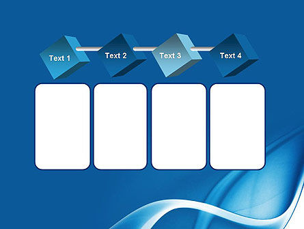 Abstract Blue Fantasy PowerPoint Template Slide 18