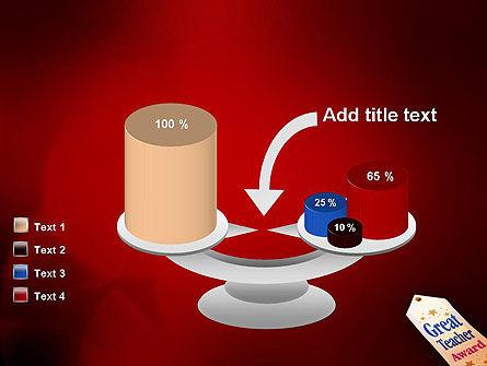 Great Teacher Award PowerPoint Template Slide 10