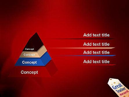 Great Teacher Award PowerPoint Template Slide 12