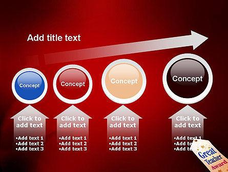 Great Teacher Award PowerPoint Template Slide 13