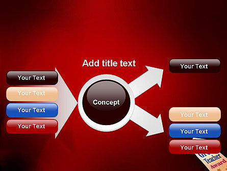 Great Teacher Award PowerPoint Template Slide 14
