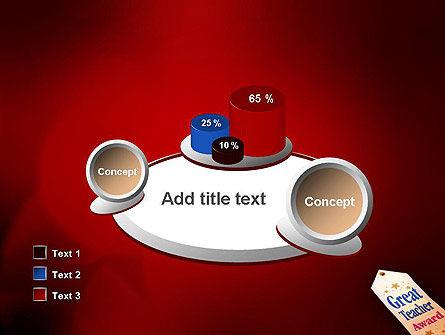 Great Teacher Award PowerPoint Template Slide 16