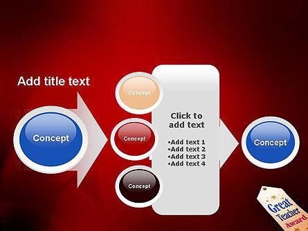 Great Teacher Award PowerPoint Template Slide 17