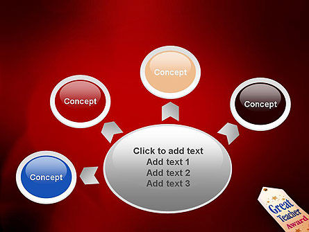 Great Teacher Award PowerPoint Template Slide 7