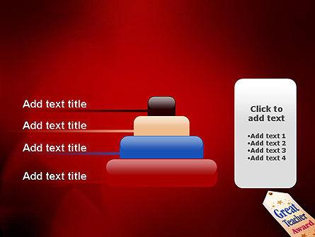 Great Teacher Award PowerPoint Template Slide 8