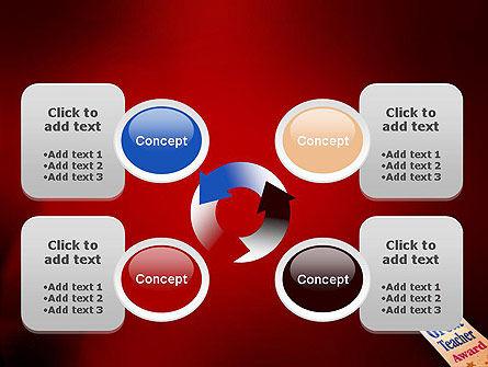 Great Teacher Award PowerPoint Template Slide 9