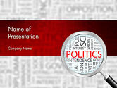 General: Politics PowerPoint Template #11664