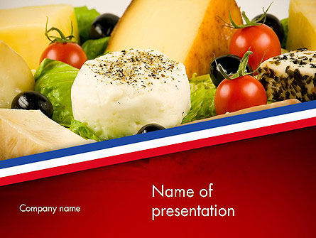 French Cuisine Powerpoint Template Backgrounds