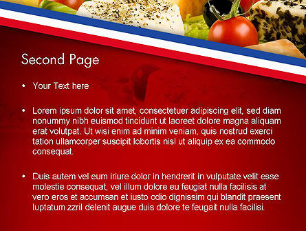 French Cuisine PowerPoint Template Slide 2