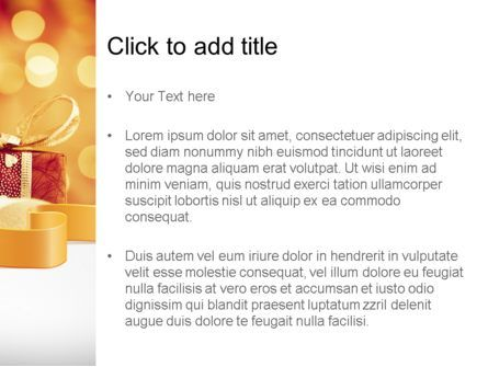 Happy Christmas PowerPoint Template, Slide 3, 11666, Holiday/Special Occasion — PoweredTemplate.com