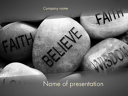 Power of Words PowerPoint Template