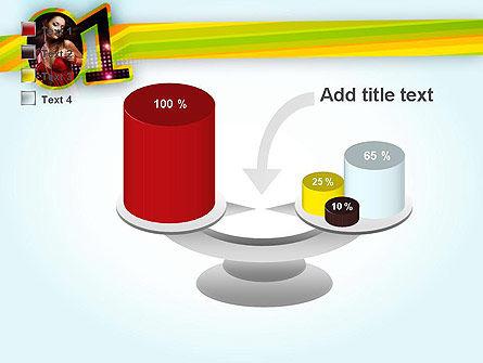 Dancing Girl PowerPoint Template Slide 10