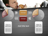 Distracted Driving PowerPoint Template#16