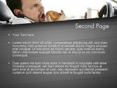 Distracted Driving PowerPoint Template#2
