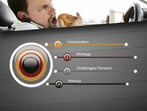 Distracted Driving PowerPoint Template#3