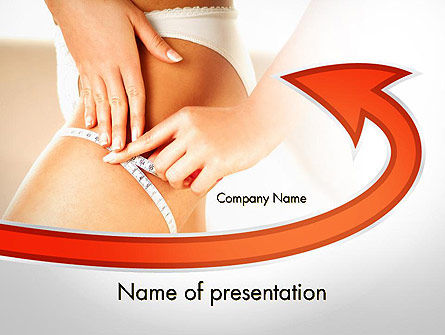 Medical: Cellulite Treatment PowerPoint Template #11676